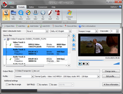 VSDC Free Video Converter :: file browsing and previewing