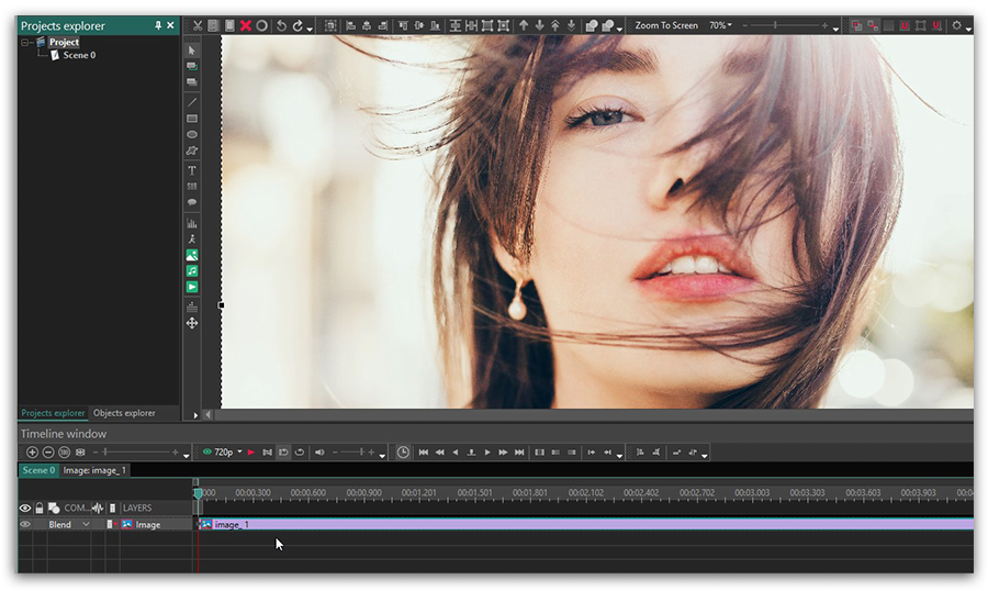 How to add effects to videos and images in VSDC Free Video