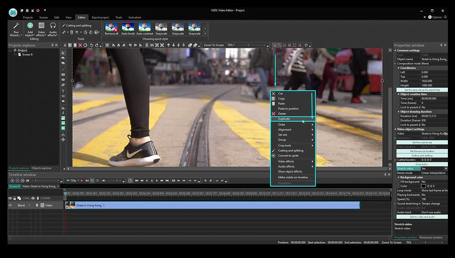 Cómo Superponer Videos En Vsdc Usando Modos De Fusión Tutorial