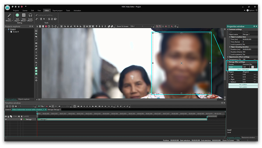 How to blur faces in a video using free software | Quick