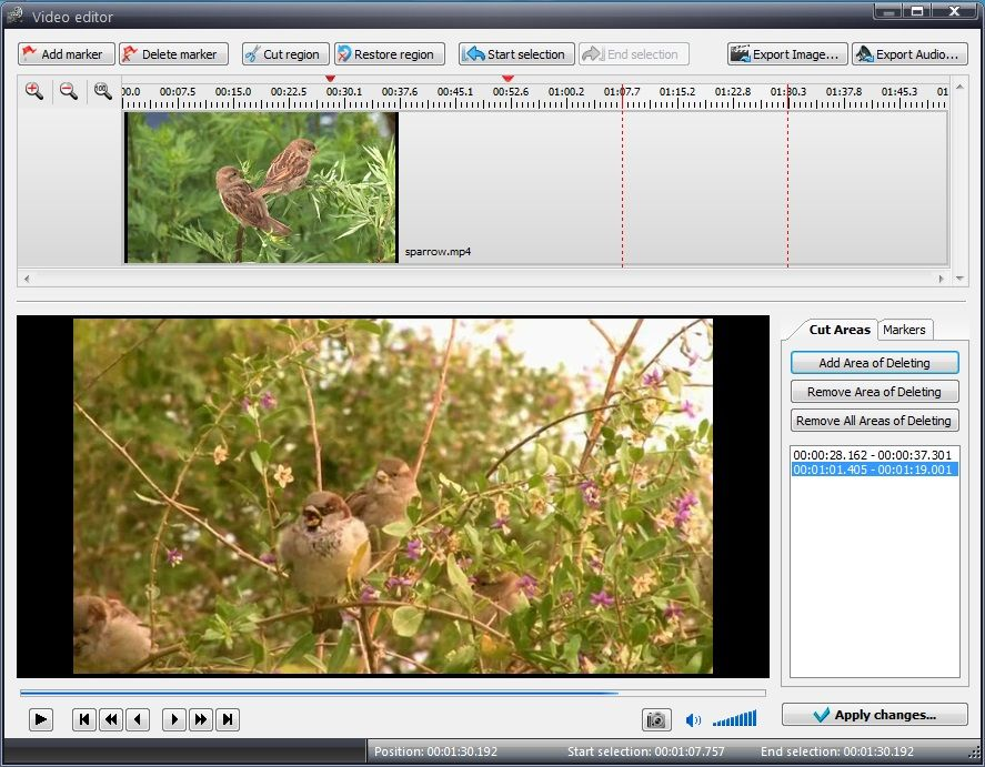 How to cut a video in VSDC Free Video Editor