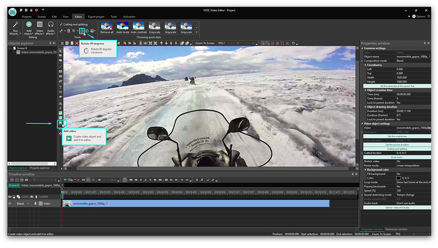 How to edit GoPro videos in free video editing software