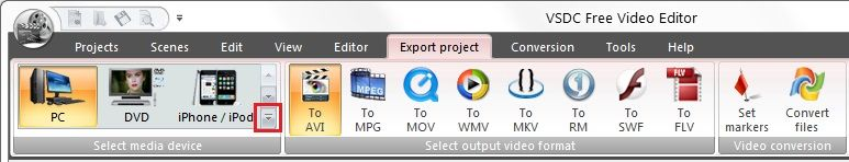 free video editing software mov