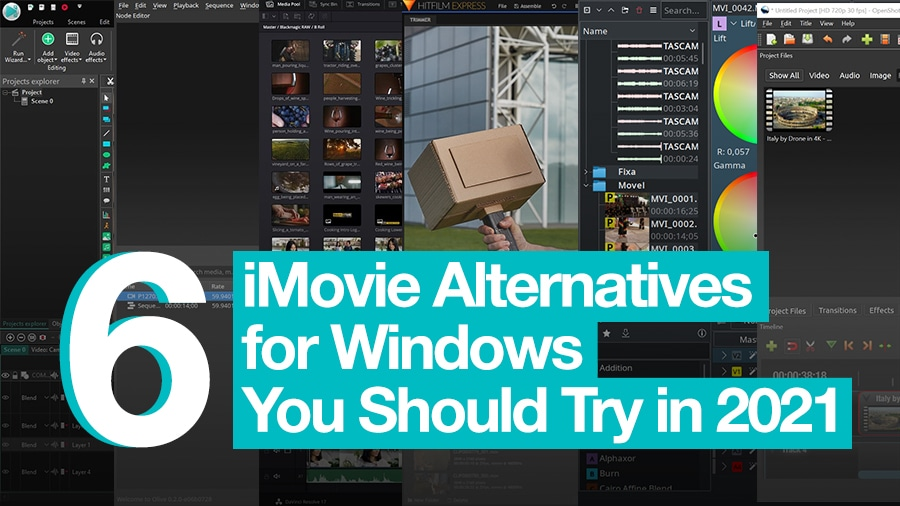 Free iMovie alternatives for Windows worth trying in 2021