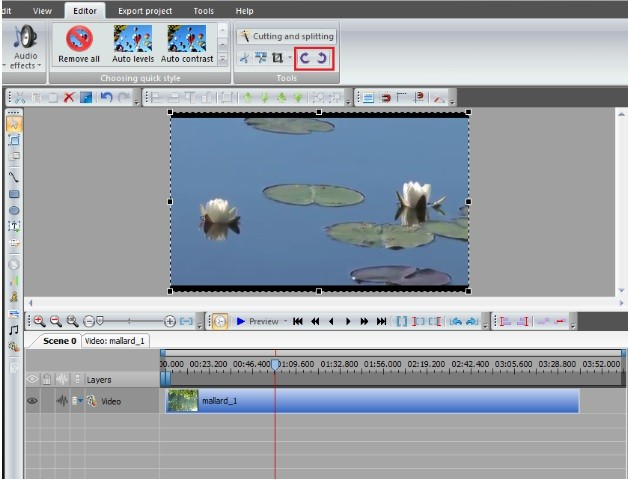 How to rotate a video or an image then click it on the timeline and use the rotate buttons on the tools section of the editor tab these buttons allow you to rotate the entire file 90 ccuart Images