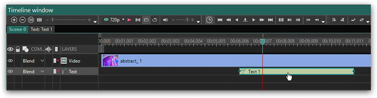 How to use VSDC free video editor to add text to a movie