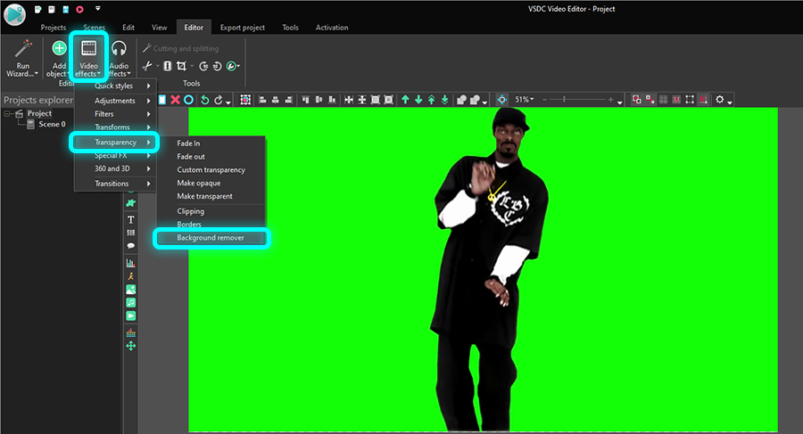 How To Quickly Create Video Or Gif With Transparent Background
