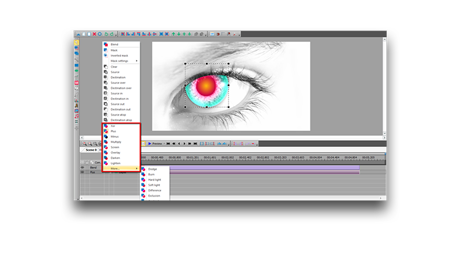 VSDC Free Video Software: audio and video editing tools