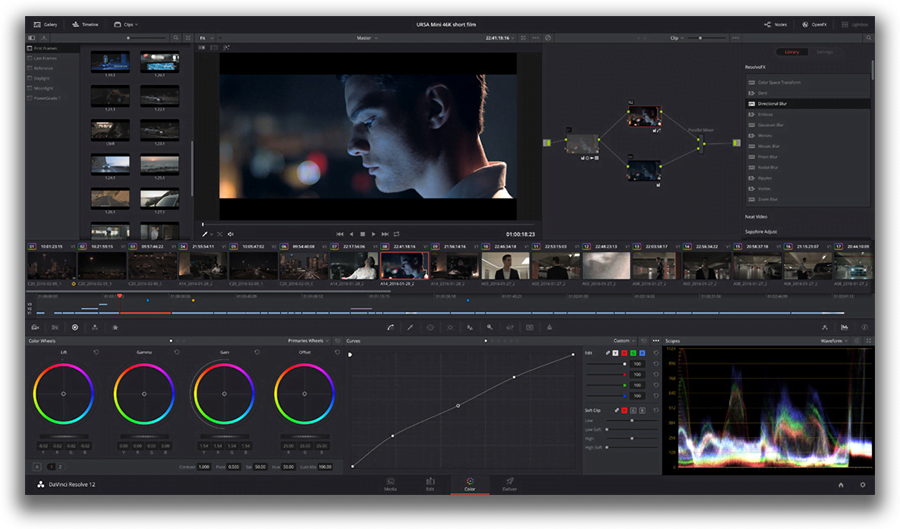 VSDC Free Video Editor Interface overview