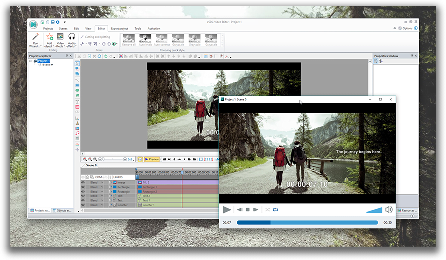VSDC | Free video editing software for Windows 7 | 32-bit and 64-bit