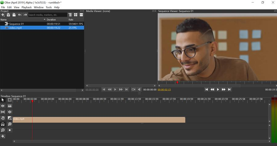Olive is a new video editor that works on Windows