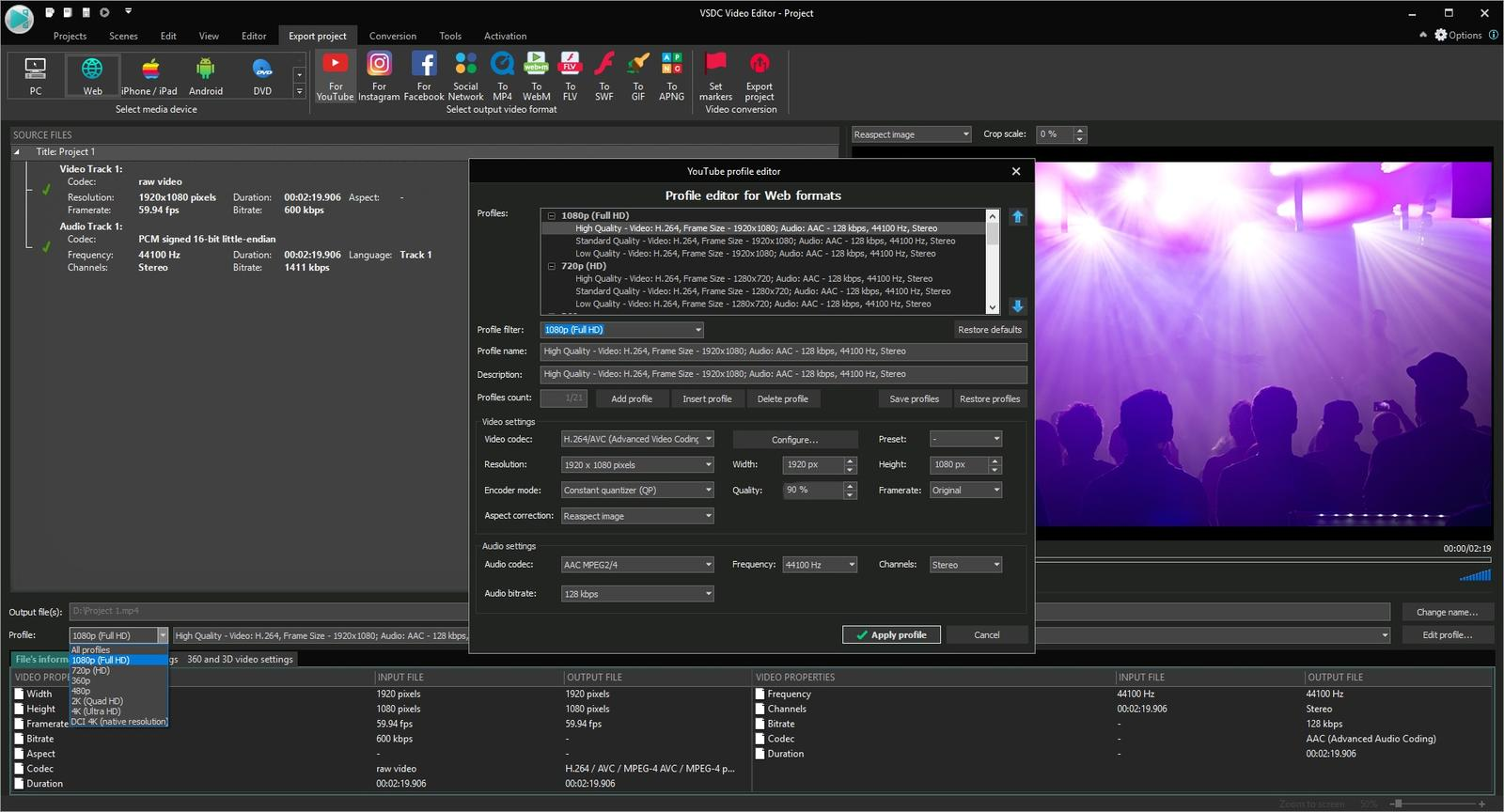 descargar vsdc free video editor en espa?ol