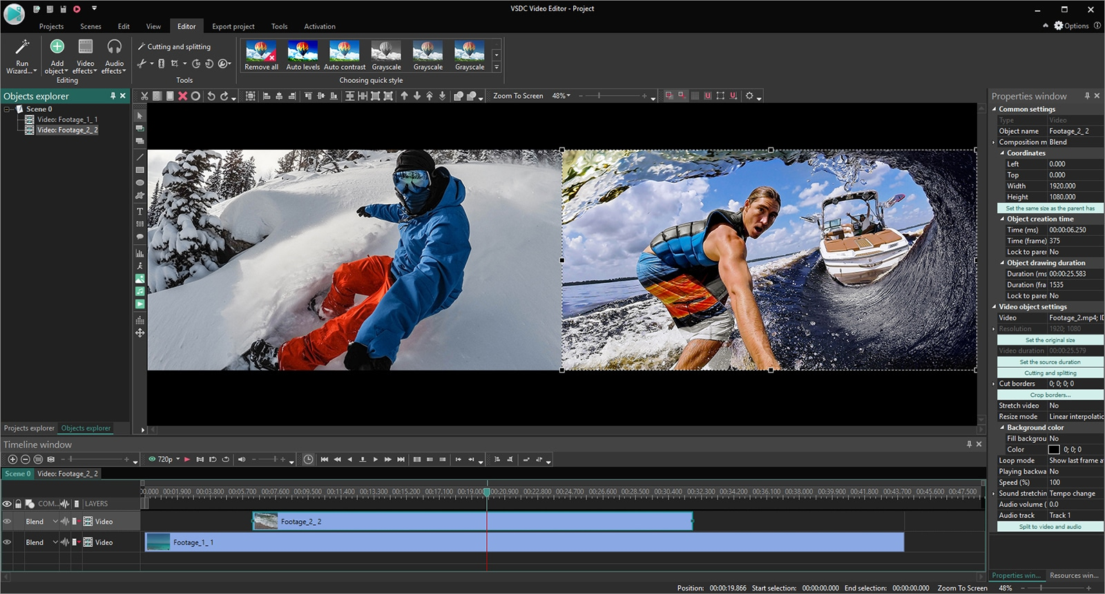 best professional video editing software 2019