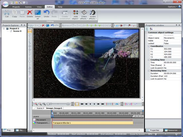 Download Free Video Editor: free video editing application for creating videos. good Screen Shot