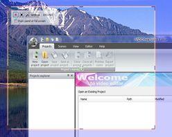 VSDC Free Screen Capture :: recorded region choosing