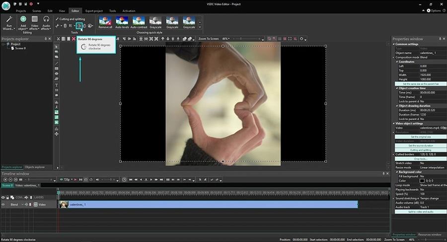 Как повернуть видео на 90 градусов и сохранить его на компьютере
